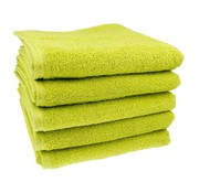Handdoek Kiwi groen 50x100