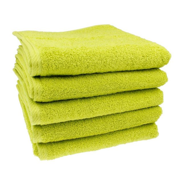 Handdoek Kiwi groen 50x100 cm