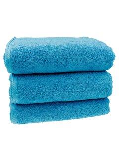 Sauna handdoek Aqua blauw 80x200 cm