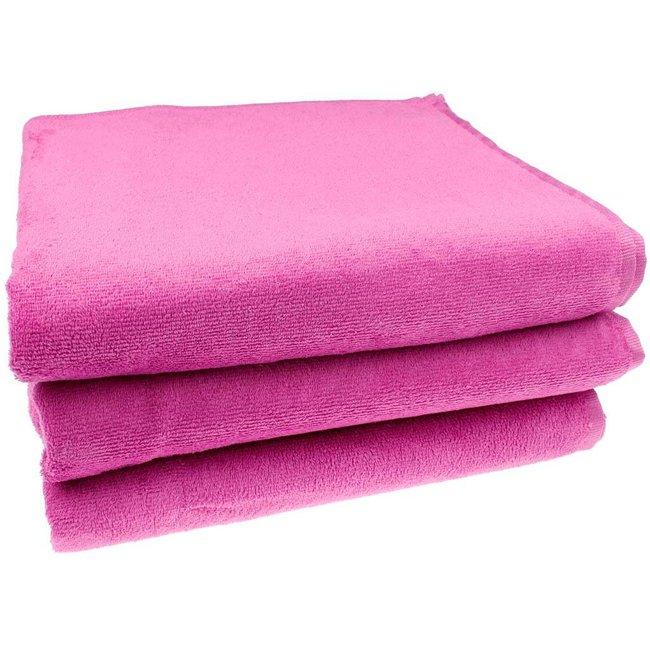 Roze strandlaken xxl