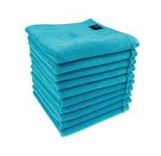 Kappershanddoeken turquoise