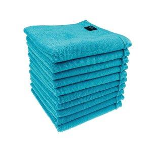 Microvezel kappershanddoeken turquoise