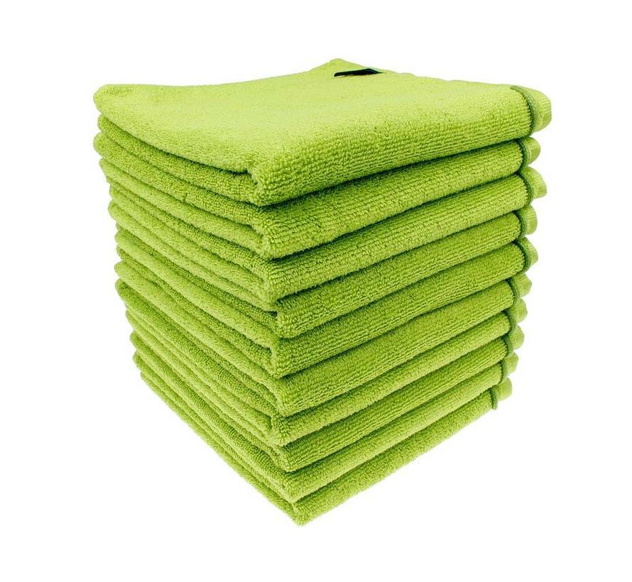 Microvezel kappershanddoeken (appel)groen