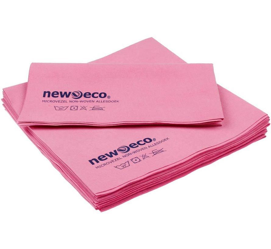 Non-woven microvezeldoeken roze