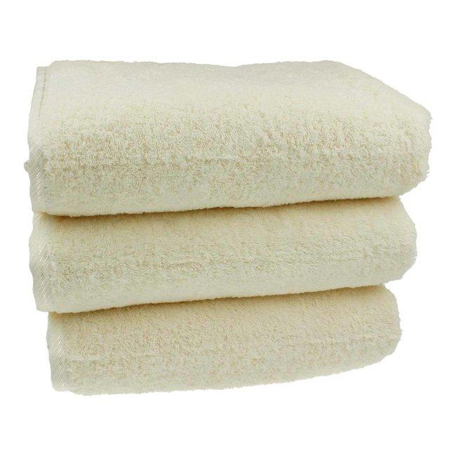 Sauna handdoek Crème 80x200 cm