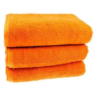 Sauna handdoek Oranje 80x200 cm