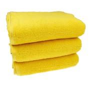 Sauna handdoek Geel 80x200 cm