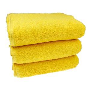 Sauna handdoek - Geel 80x200 cm