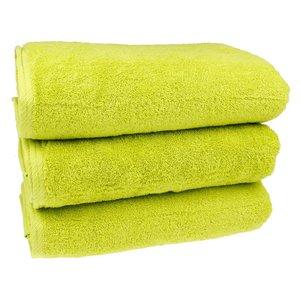 Sauna handdoek - Kiwi groen 80x200 cm
