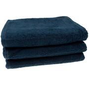 Douchelaken Donkerblauw 70x140 cm