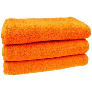 Douchelaken - Oranje 70x140 cm