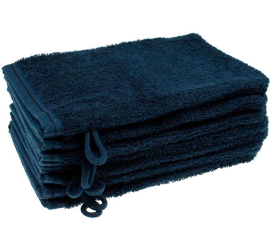 Washandje Donkerblauw