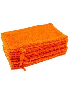 Washandje Oranje 17x24