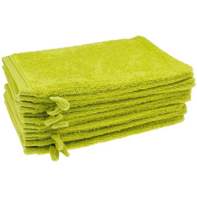 Washandje Kiwi groen 17x24