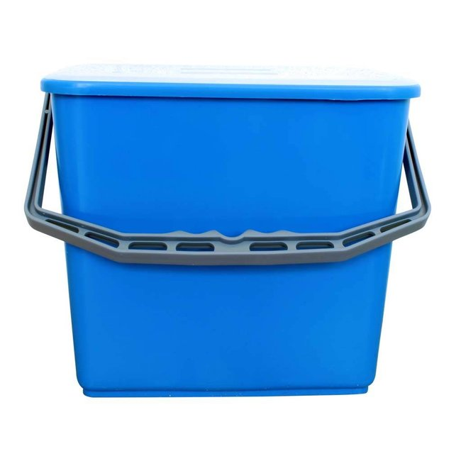 Emmermet deksel 6 liter blauw