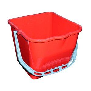 Emmer 17 liter rood