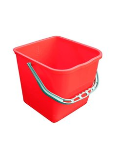 Emmer 25 liter rood