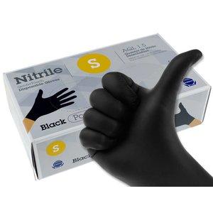 Nitril handschoenen zwart S