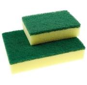 Schuurspons groot geel/groen