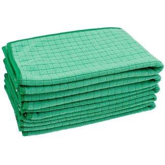Allround microvezeldoek block-tex groen