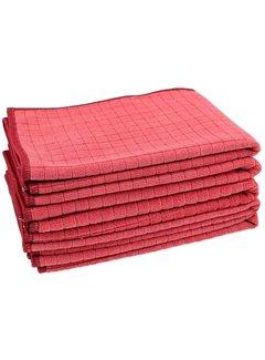 Allround Microvezeldoek Block-tex rood
