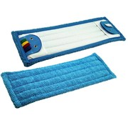 Microvezel vlakmop Soft Touch, pockets en flappen