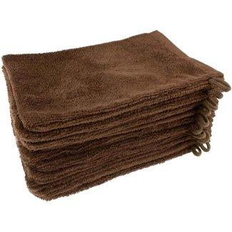 Washandje bruin