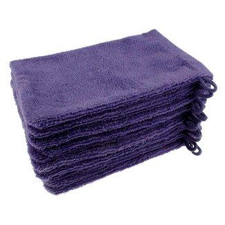 Washandje paars