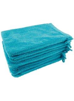Washandje Turquoise