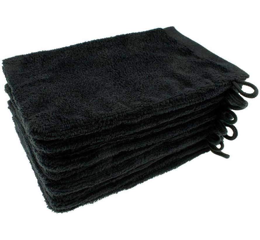 Microvezel Washandje Zwart