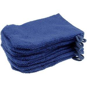 Micropluche washandjes met lusje op = op