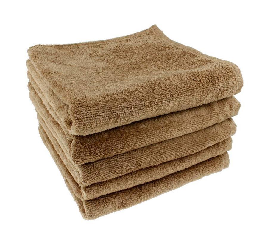 Microvezel Handdoek Walnoot