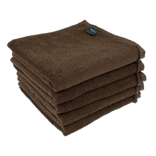Handdoek chocoladebruin
