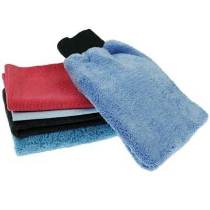 Speciale microvezeldoeken en hulpmiddelen voor auto wassen