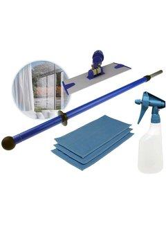 Indoor glasmop tele set