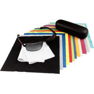 14-pak opticien brillendoekjes kleurenmix
