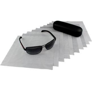 Opticien brillendoekjes grijs