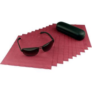 Opticien brillendoekjes bordeaux