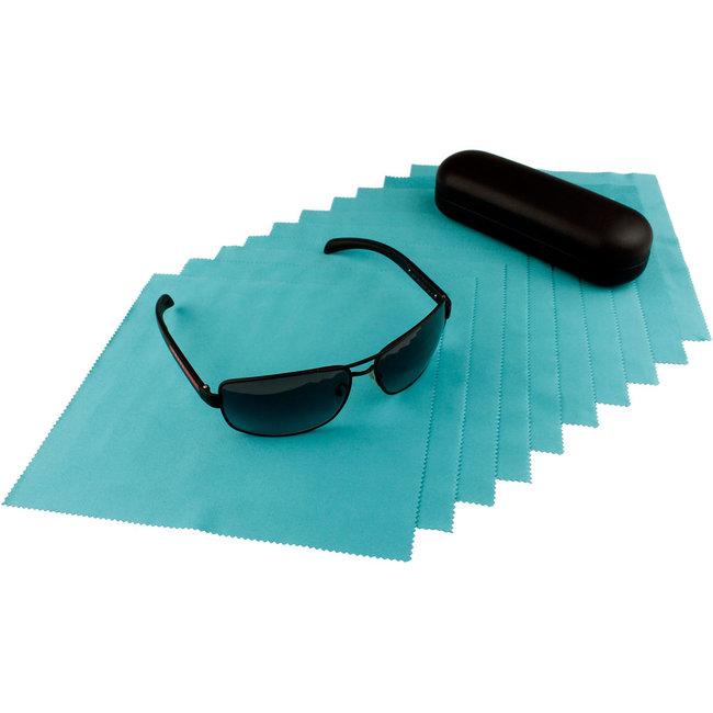 10-pak opticien brillendoekjes flessengroen