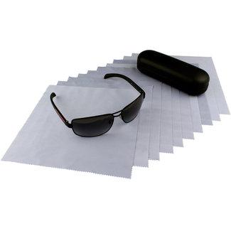 Opticien brillendoekjes lichtpaars