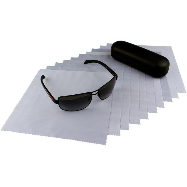 Opticien brillendoekjes lichtpaars
