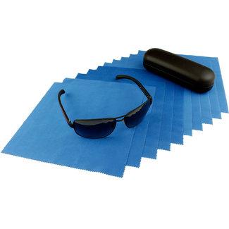 Opticien brillendoekjes koningsblauw