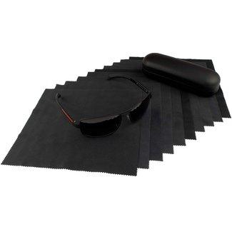 Opticien brillendoekje zwart
