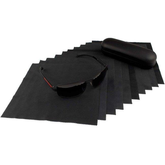 10-pak opticien brillendoekje zwart