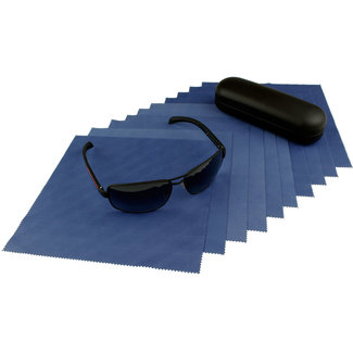 10-pak opticien brillendoekjes Marineblauw