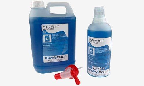 Microvezel wasmiddel