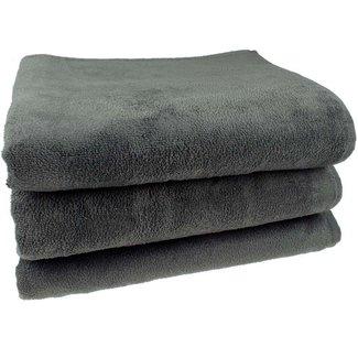Massage handdoek 100x220cm Antraciet