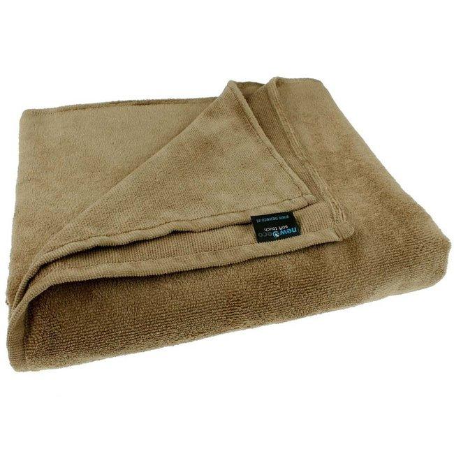 Massage handdoek 100x220cm Walnoot