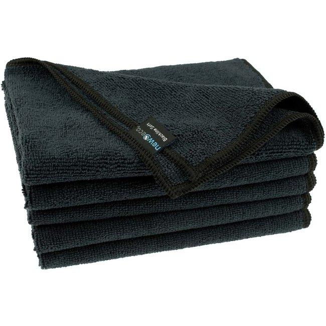 Microvezeldoek soft zwart