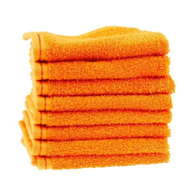 Waslap oranje